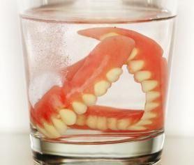 зубные протезы съемные частично