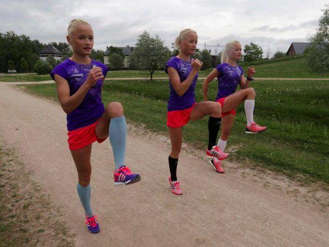 Сестры-тройняшки из эстонии готовятся произвести фурор на олимпиаде-2016