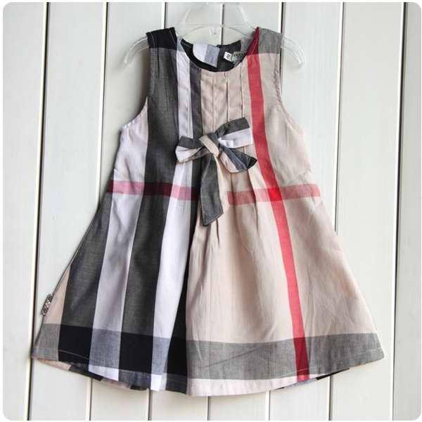 Шьем сами: выкройка платья для девочки