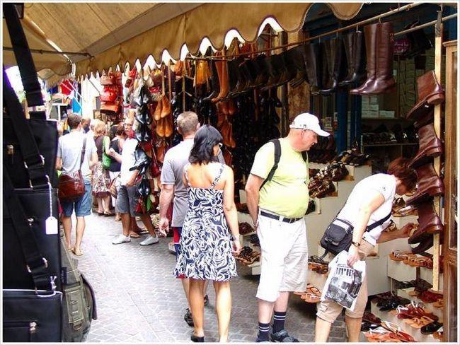 шоппинг на Крите 2013