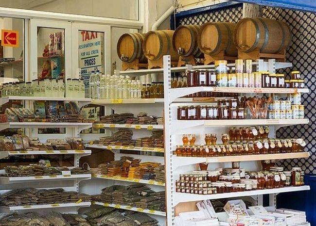 шоппинг на острове Крит