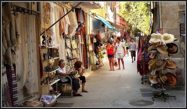 Шоппинг в греции на крите