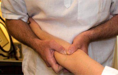 медиальный эпикондилит локтевого сустава лечение