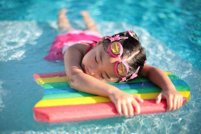 Плавание в бассейне калории