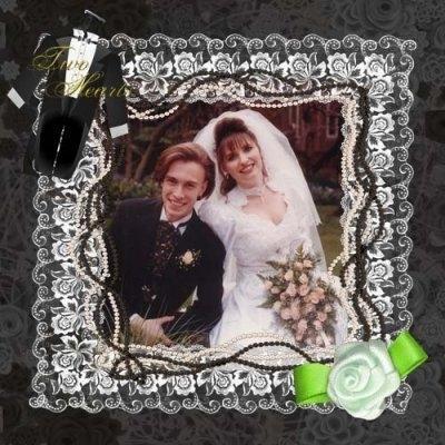 скрапбукинг свадебного альбома