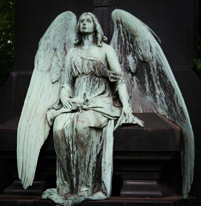 скульптуры ангелов фото