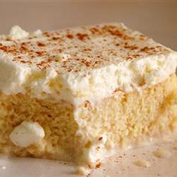 Сладкий торт со сгущенкой