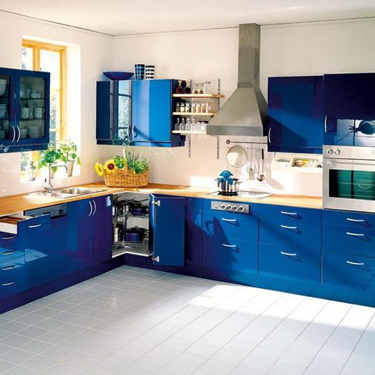Сочетание цветов в интерьере кухни: современный подход