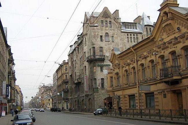 Софийская улица в северной столице