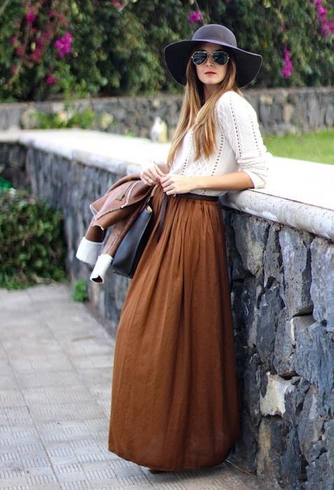 Сонник юбка длинная