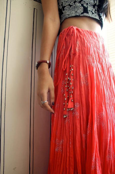 Сонник красная юбка