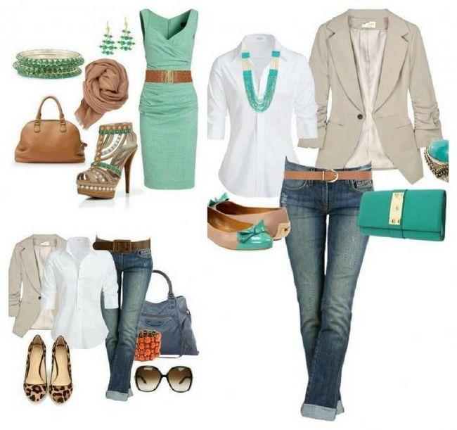 Составляем модный комплект одежды