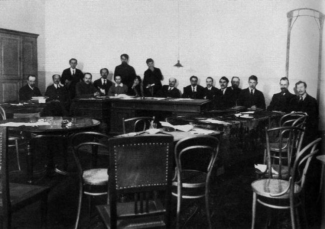 Совет народных комиссаров - первое правительство советской россии