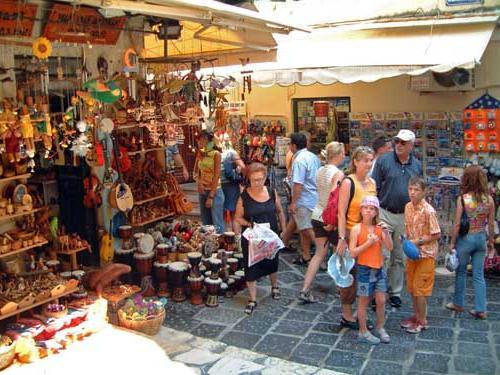 сувенирные магазины греции