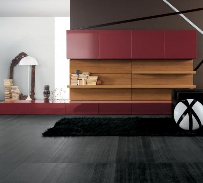 современные мебельные стенки