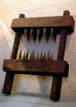 орудия пыток средневековья