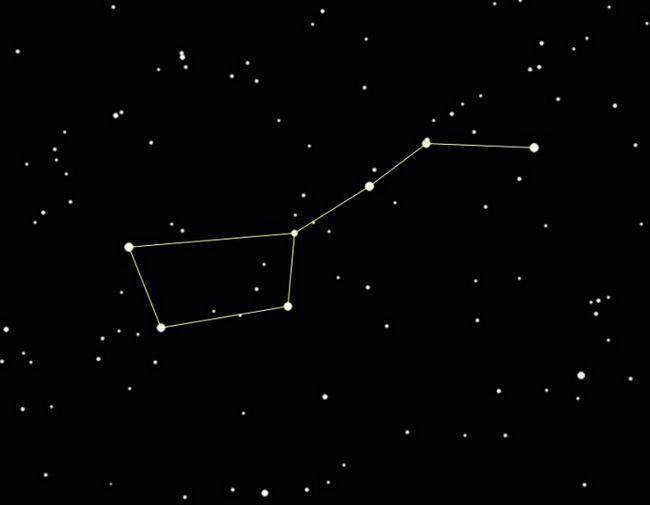 Созвездие малая медведица - украшение северного небосвода