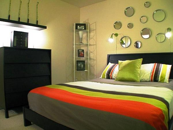 спальни в стиле модерн