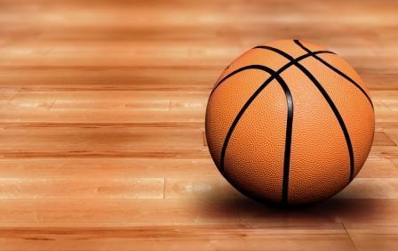 Спортивные снаряды: баскетбольный мяч