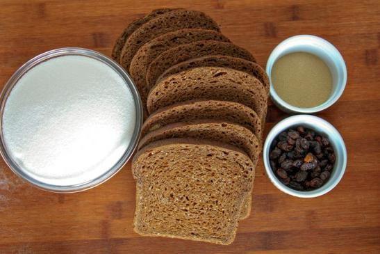 Как сделать хлебный квас дома