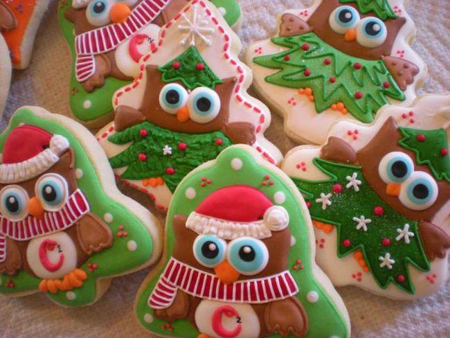 Средневековая история рождественского печенья