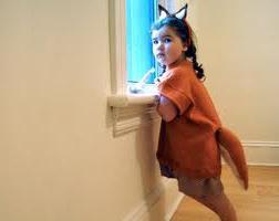 Сшить карнавальный костюм лисы просто!