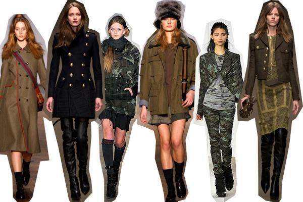 Стиль милитари в женской одежде - повседневная универсальность