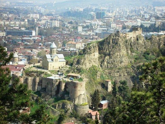 Столица грузии – прекрасный тбилиси