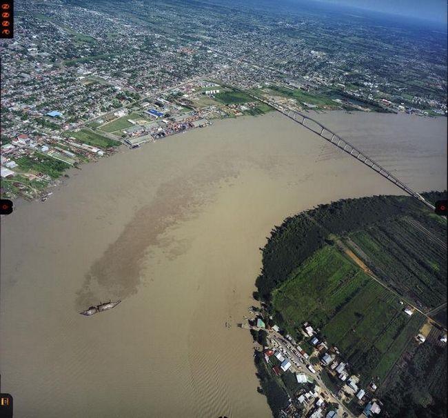 Столица суринама - парамарибо