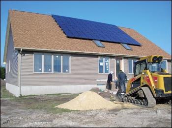 Строим щитовой дом