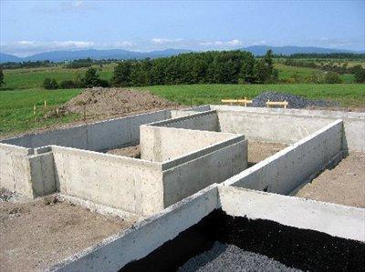 Строительство фундаментов: основные моменты