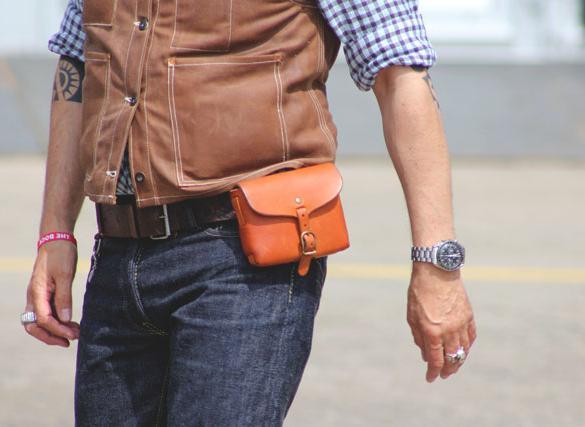 Сумка поясная – стильный и необходимый аксессуар