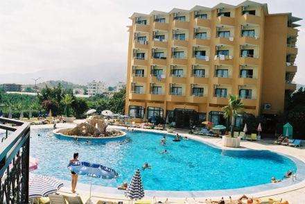 Sunshine hotel 4, кестел, турция