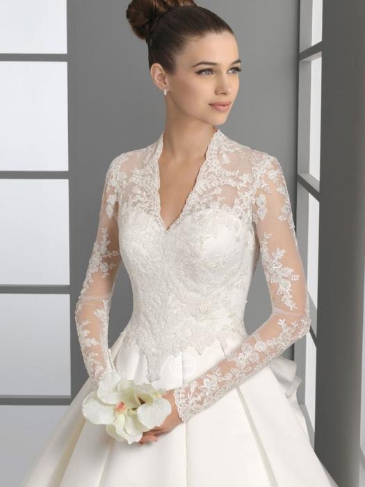 Свадебное платье с закрытыми плечами, или какое платье выбрать?