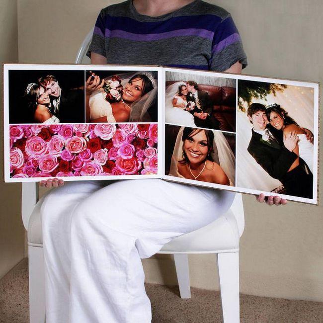 как оформить свадебный альбом