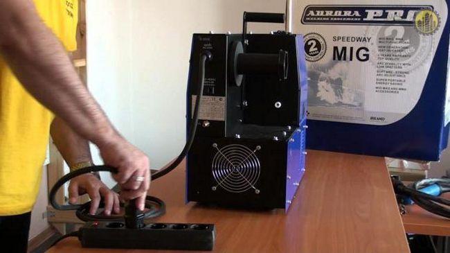 Сварочный полуавтомат аврора оверман 180 цена