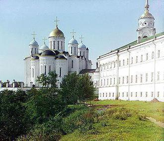 главные политические центры Руси Владимиро-Суздальское княжество