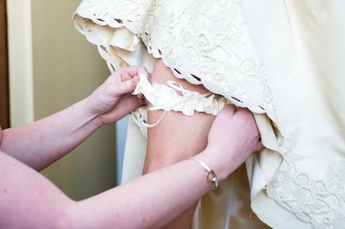 подвязки на свадьбу