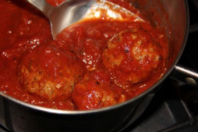 рецепт тефтелей в томатном соусе в духовке