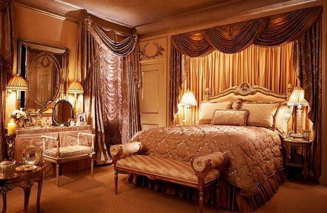 Комплект для спальни покрывало шторы