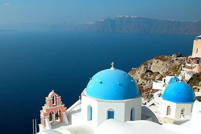 Температура в Греции: конец мая