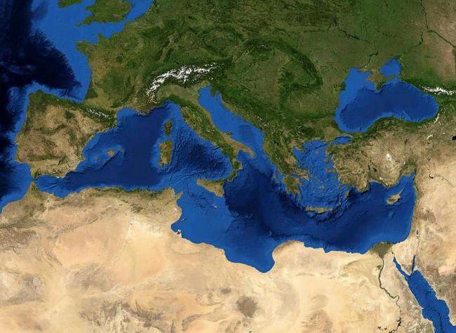 температура воды средиземного моря сейчас