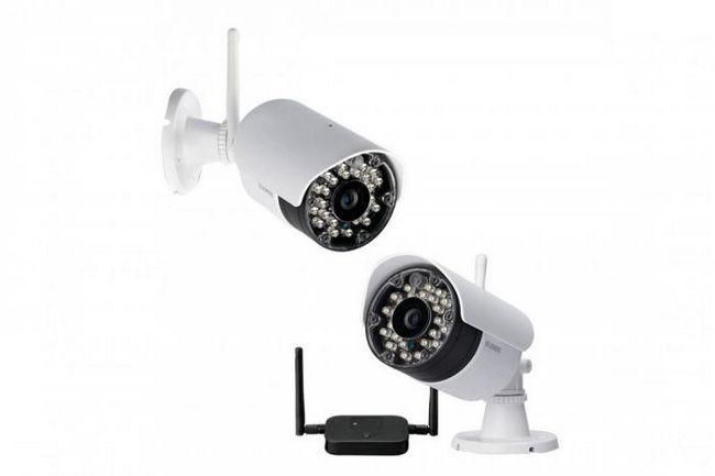 Теперь камеры наблюдения могут работать не от сети, а используя wi-fi