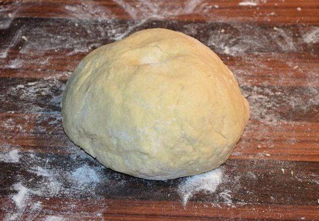 Тесто на пельмени на кипятке