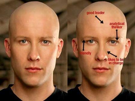 Тип лица и психологические особенности человека