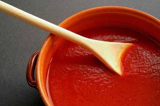 подлива томатная паста мука