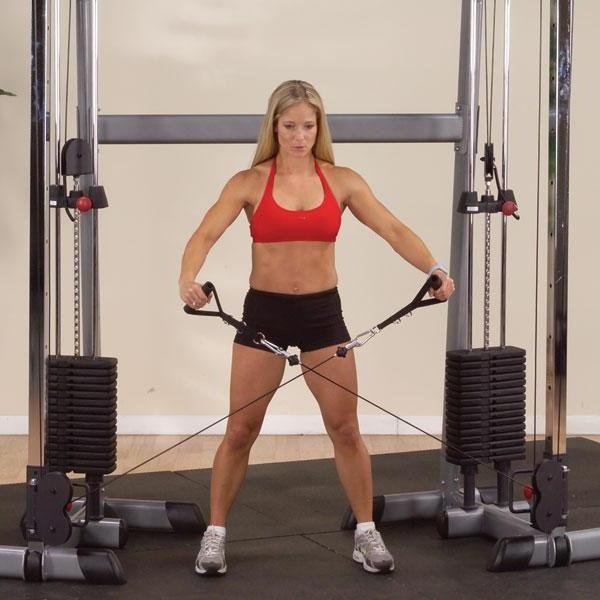 Кроссовер тренажер (упражнения)