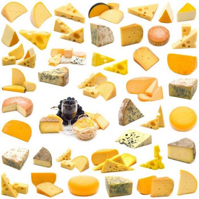 Удивительные виды сыров