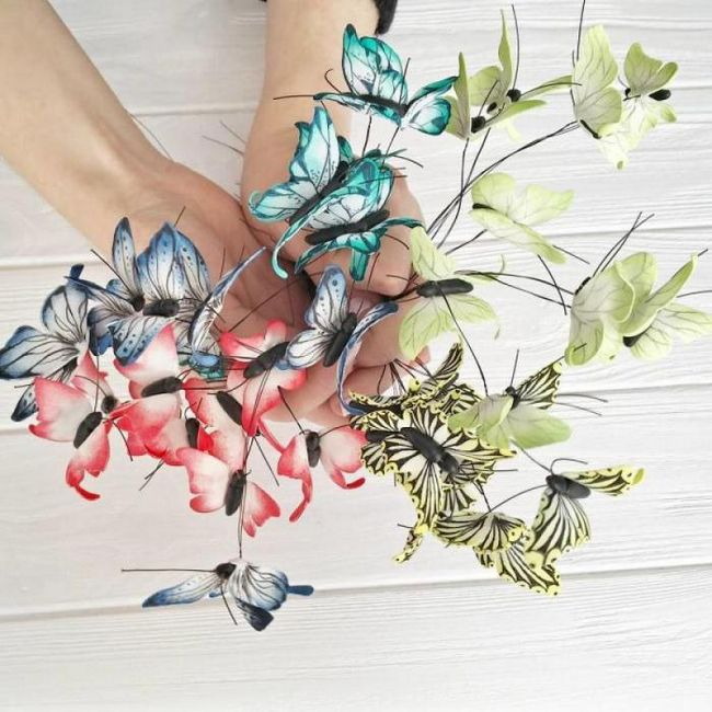 Удивительный аксессуар - корона из бабочек!