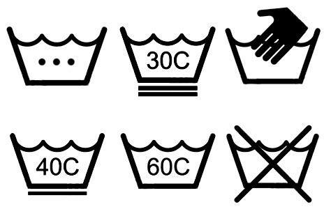 обозначение ярлыков на одежде